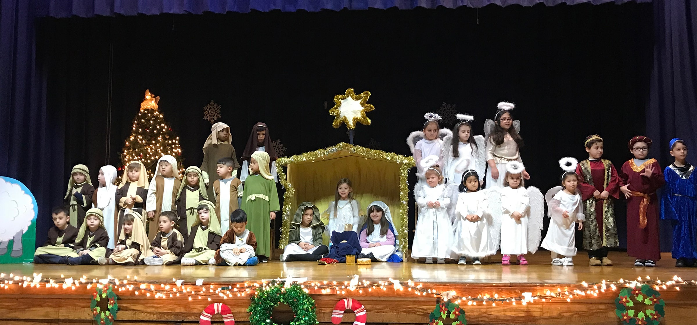 Our Lady of Grace Catholic Academy Christmas pageant